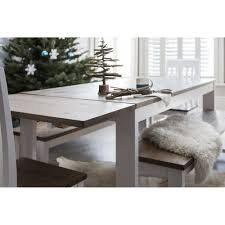 nordic dining table with 5 chairs bench