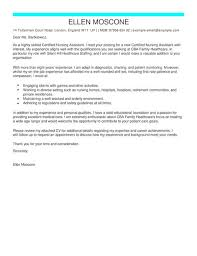 Gallery Of Ceritified Nursing Assistant Cover Letter Examples