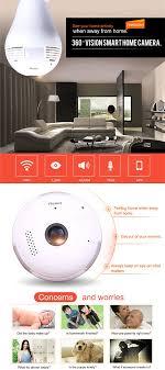 Home Network Security Appliance 960p 360 Degree Fisheye Panoramic Wireless P2p Hidden Network Ip
