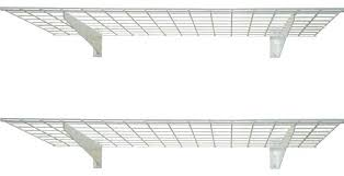 wall mounted wire shelving. Wall Mounted Shelves For Garage Wy Keepg Thgs Rrnged Srge Wll Wire . Shelving