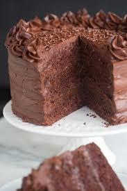 Dark Chocolate Cake Tastes Better From Scratch