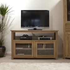 Living Room Cupboards Cabinets Eton Solid Oak Living Room Furniture Tv Cabinet Stand