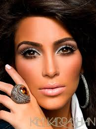 makeup used in kim s photoshoot