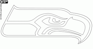 Small Picture Seattle Seahawks Coloring Pages Project For Awesome Nfl Team
