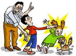 Resultado de imagem para imagem,desenho, pai agressor