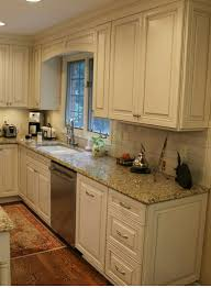 beige backsplash white cabinets. White Cabinets Subway Tile Beige Granite Countertops In Backsplash