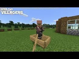 minecraft bedrock 1 16 easy villager