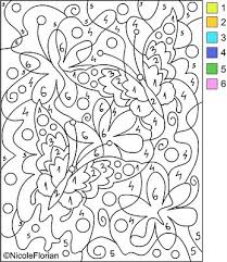 See more ideas about color by numbers, coloring pages, color by number printable. 8 Best Advanced Color By Number Printables Printablee Com