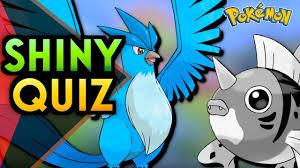 Schwerstes Shiny Pokemon Quiz - YouTube