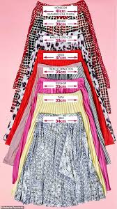 Wicked Clothes Size Chart The High Street Clothes Size Lottery Which Store Is The