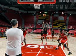 Xfinity Center Seating Chart Maryland Fans Get A Peek At No 7 Maryland Mens Basketball Team