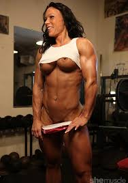 Naked pic of muscle woman