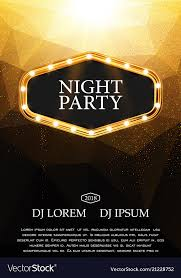 Night Party Flyer Template Design