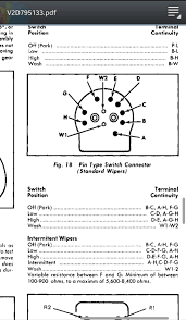 wiper switch wiring diagram wiper image wiring diagram lee s 1978 ii 2 speed wiper switch bypass 77 79 ford ii on valeo wiper motor wiring diagram