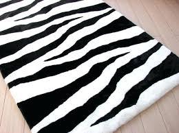 black and white zebra print rug at rugs modern animal