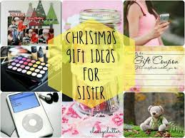 Christmas Gift Ideas for Sister main