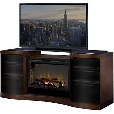 dimplex acton electric fireplace entertainment center realogs