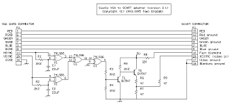 vga to tv converter circuit diagram