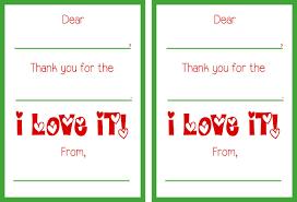 Free Printable Thank You Postcards Free Printable Christmas Thank You Cards