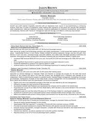 Hospitality Management Resume Samples Hotel Freshers Examples