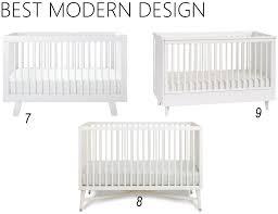 white modern crib iron  twine white baby cribs modern cribs