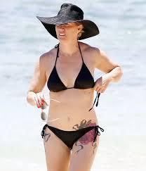 Jennie Garth Sports Massive New Hip Tattoo In Bikini Photos