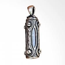 daftar harga muslim jewelry top core ayatul kursi zamzam water vial pendant liontin perak dan spesifikasi