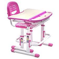 school desk and chair combo. mount-it! height adjustable student desk, children desk and chair set, school combo c