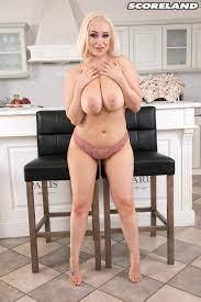 Blonde British Big Tits