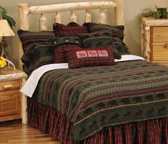 rustic luxury bedding. Brilliant Rustic Rustic Cabin Furnishings Luxury Bedding In Style Throughout  On I