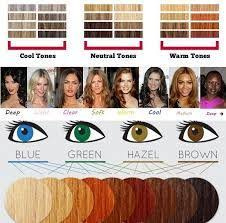 Well Hair Color Chart Cern Skin Tones And Hair Colors Work Well With Cern Garment