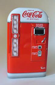 Coke Vending Machine For Sale Cool Amazon Coca Cola Coke Vending Machine Tin Toys Games