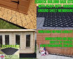 garden shed base kit 14x10 membrane