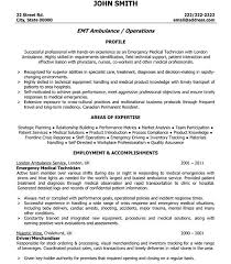 Sweetlooking Emt Resume Examples Adorable Click Here To Download
