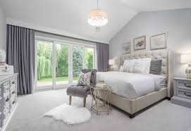 concept traditional master bedroom with allured crystal chandelier solid of white and gold bedroom ideas