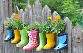 fence garden ideas. rainbootgardenonafence fence garden ideas