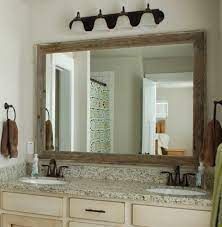 Millwood Pines Elzira Rustic Bathroom Vanity Mirror Reviews Wayfair