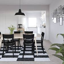 scandinavian design furniture ideas wooden chair. Full Image Dining Room Scandinavian Ideas 4 Dark Brown Stained Teak Armless Chairs Bright White Table Design Furniture Wooden Chair