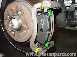 BMW 5 Series best brake pads for bmw : MINI Cooper Brake Pad Replacement (R50/R52/R53 2001-2006 ...