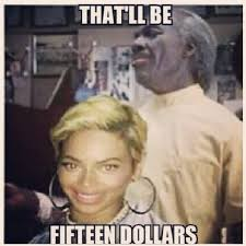 LMAO: Funniest Beyonce New Hair Memes | Mina SayWhat via Relatably.com