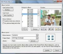 powerpoint photo albums create photo albums with powerpoint 2013 2010 2007