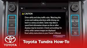 2014 Tundra How-To: Navigating Entune™ | Toyota - YouTube