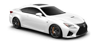 lexus sports car 2018. 2018 rc f in ultra white with 19-in split-seven-spoke forged lexus sports car