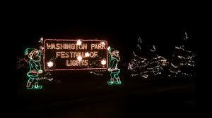 Washington Park Michigan City Christmas Lights Washington Park Festival Of Lights Visit Michigan City Laporte
