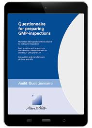 Questionnaire For Preparing Gmp Inspections