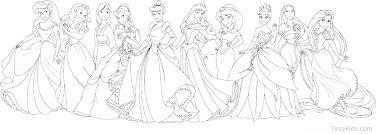 Coloring Pages Of Princess Koshigayainfo