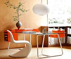 orange office furniture. modern home office furniture orange