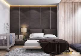Couples Small Bedroom Baby Play Yard Sleeper Beside Bed Modern Decor