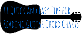Electric Guitar Note Chart 11 Quick And Easy Tips For Reading Guitar Chord Charts