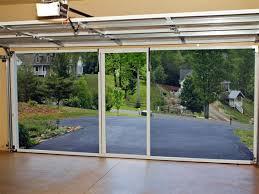 screened in garage doorLifestyle Garage Screens